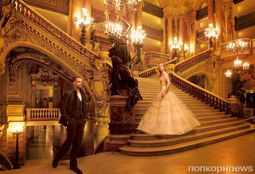Наталья Водянова в журнале Vogue. Ноябрь 2014