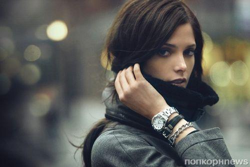Эшли Грин в рекламной кампании DKNY. Осень 2012