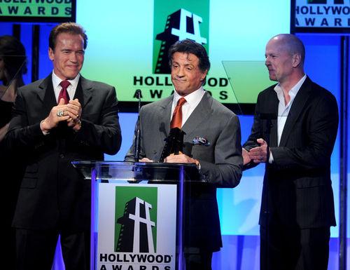 Звезды на 14th annual Hollywood Awards