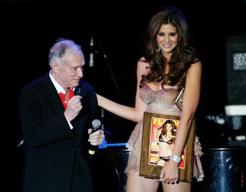 Хью Хефнер представил девушку Playboy 2010