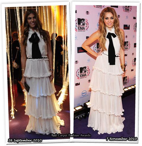 Fashion Battle: Бьянка Брандолини д'Адда и Майли Сайрус