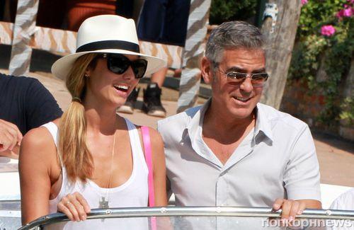 Джордж Клуни не расставался со Стейси Киблер