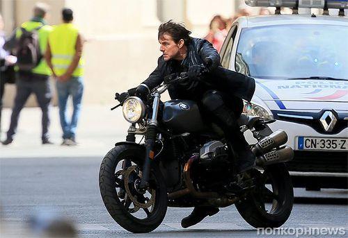 Том Круз получил травму на съемках «Миссия невыполнима 6»