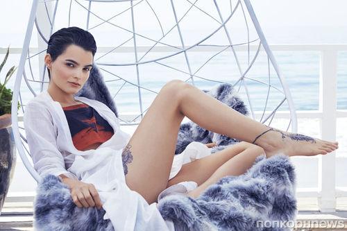 Звезда «Дэдпула» Брианна Хильдебранд в фотосессии для итальянского Vanity Fair