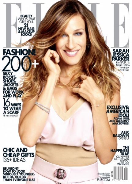 Сара Джессика Паркер в журнале Elle. Декабрь 2009