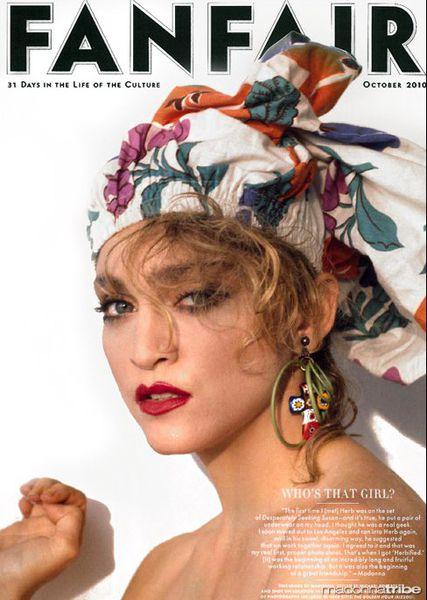 Никогда ранее не публиковавшийся портрет Мадонны