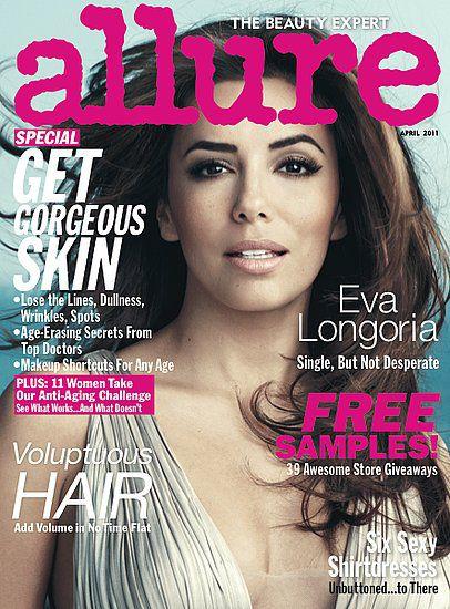 Ева Лонгория в журнале Allure. Апрель 2011
