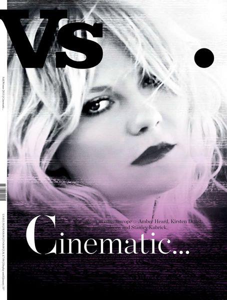 Кирстен Данст в журнале Vs. Magazine. Осень/зима 2011