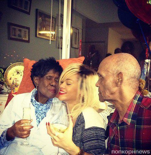 Рианна поздравила бабушку с Днем рождения
