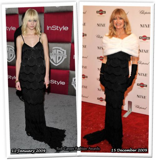 Fashion battle: Тэйлор Момсен и Голди Хоун