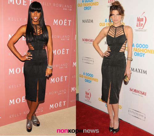 Fashion Battle: Келли Роланд и Лейк Белл