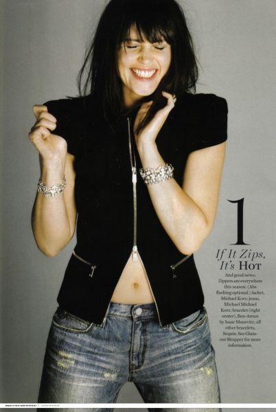 Джемма Артертон в журнале Glamour USA. Март 2010