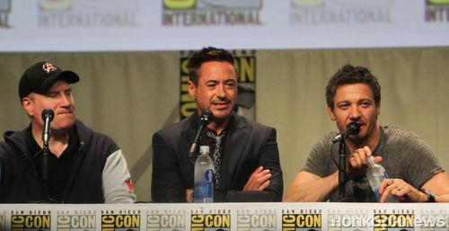 """Видео с пресс-конференции фильма """"Мстители: Эра Альтрона"""""""