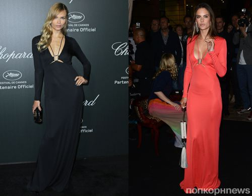 Fashion battle: Наташа Поли и Алессандра Амбросио
