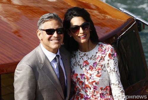 Джордж Клуни и Амаль Аламуддин поженились