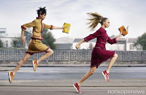 Рекламная кампания Chanel Осень / Зима 2015