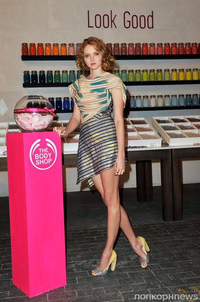 Лили Коул стала лицом The Body Shop