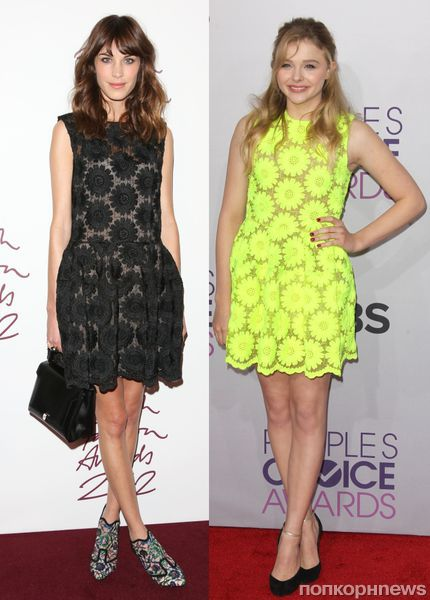Fashion battle: Алекса Чанг и Хлоя Морец