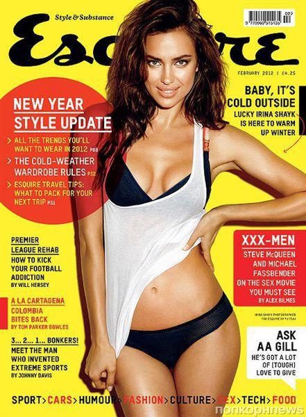 Ирина Шейк в журнале Esquire Великобритания. Февраль 2012