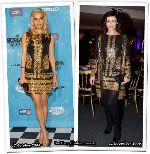 Fashion battle: Изабель Лукас и Анна Муглалис