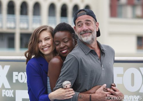 Фото: звезды «Ходячих мертвецов» на Comic-Con в Сан-Диего