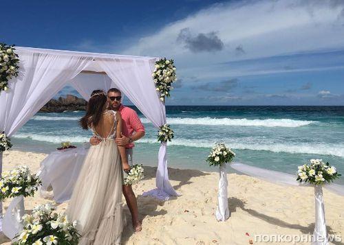 Звезды «Дом 2» Элла Суханова и Игорь Трегубенко сыграли свадьбу на Сейшелах