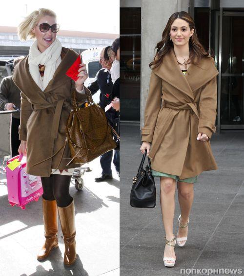 Fashion battle: Кэтрин Хайгл и Эмми Россум