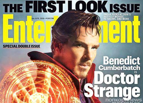 Первые кадры: Бенедикт Камбербэтч в «Докторе Стрэндж»