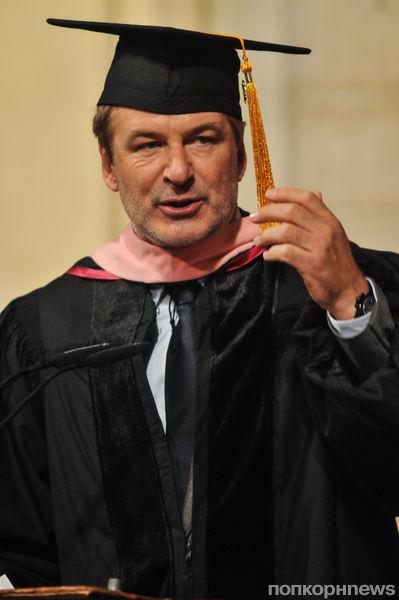 Алек Болдуин стал доктором музыкальных искусств