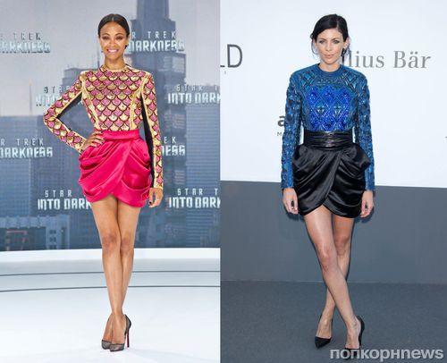 Fashion Battle: Зои Салдана и Либерти Росс