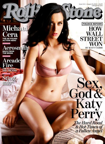 Кэти Перри в журнале Rolling Stone. Аавгуст 2010