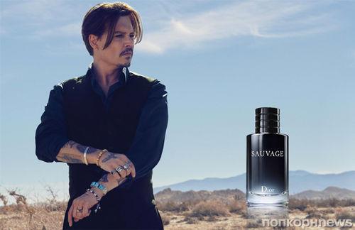 Джонни Депп в рекламной кампании аромата Dior  Sauvage: новые кадры