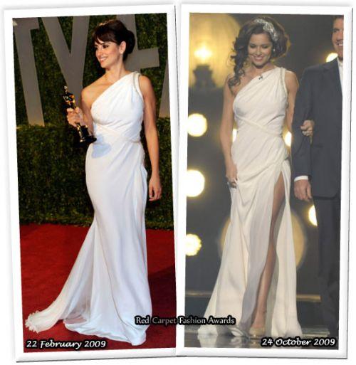Fashion battle: Пенелопа Крус и Шерил Коул
