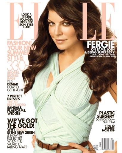 Ферги в журнале Elle. US. Май 2010