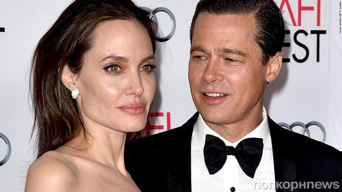 СМИ: Анджелина Джоли решила дать Брэду Питту второй шанс