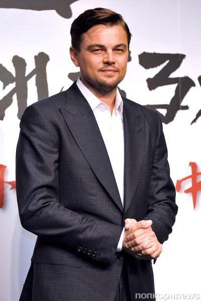 """Леонардо Ди Каприо на пресс-конференции фильма """"Джанго освобожденный"""" в Токио"""