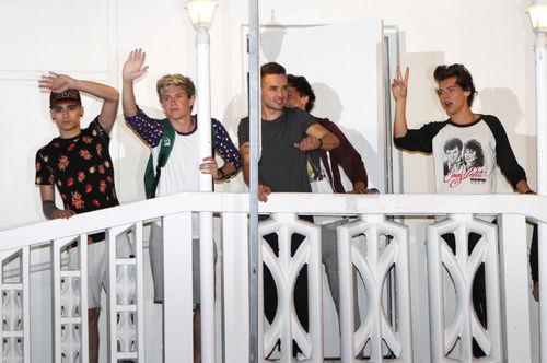 Группа One Direction отдыхает в Майами