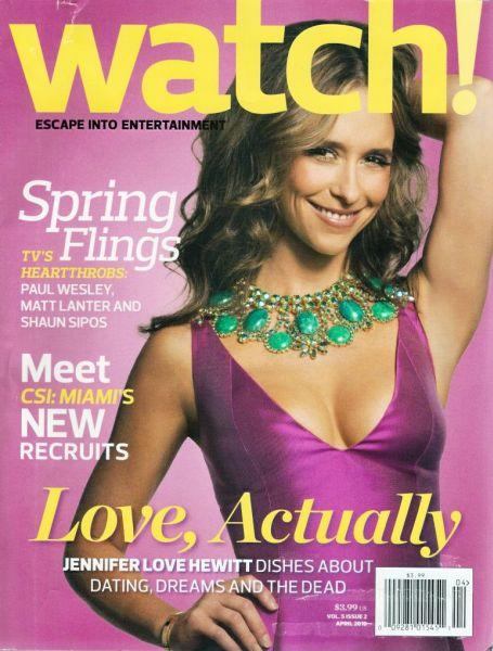 Дженнифер Лав Хьюитт в журнале Watch. Апрель 2010