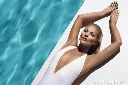 Кейт Мосс в рекламной кампании средств для загара St.Tropez