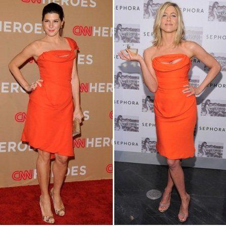 Fashion battle: Мариса Томей и Дженнифер Энистон