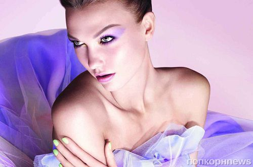 Первый взгляд на рекламную кампанию Dior Beauty с Карли Клосс. Весна 2012