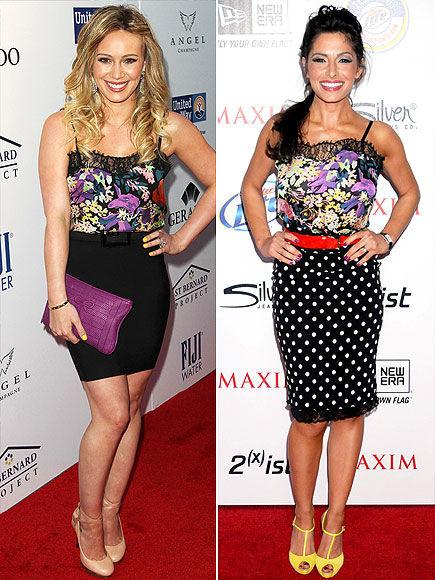 Fashion Battle: Хилари Дафф и Сара Шахи