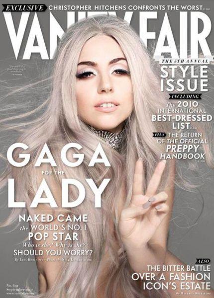 vanity fair gaga Lady
