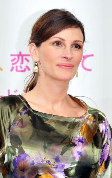 Джулия Робертс на пресс-конференции в Токио