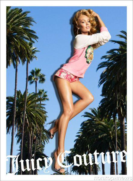Кэндис Свейнпол, Наташа Поли и Изабели Фонтана для Juicy Couture Весна 2013