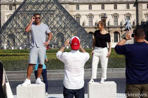 Дженнифер Лопес и Алекс Родригес отдыхают в Париже