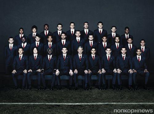 Дом Lanvin стал официальным портным футбольной команды Арсенал