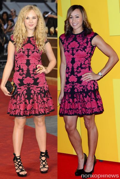 Fashion battle: Джуно Темпл и Джессика Эннис