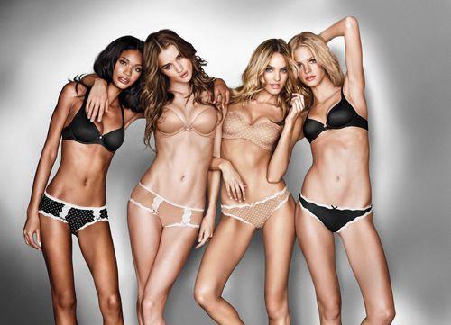 Новая коллекция нижнего белья Victoria's Secret