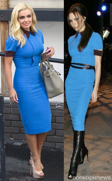 Fashion battle: Кэтрин Дженкинс и Виктория Бекхэм